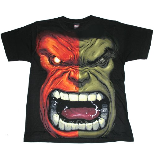 "THE INCREDIBLE HULK ""HULK FLEM"" Licensed Marvel Black Youth Tee"