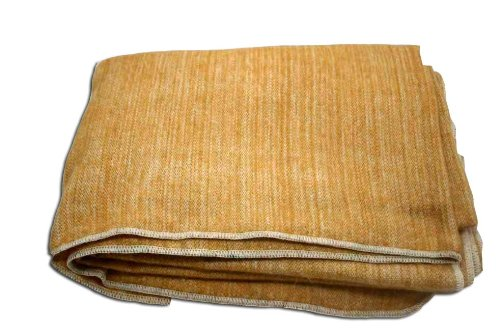 Gold Throw Blanket front-1068674