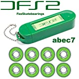 FIZZ DFS2 BEARINGS SBG540 ABEC7 フィズ スケートボード ( スケボー ) ベアリング 《アウトレット》