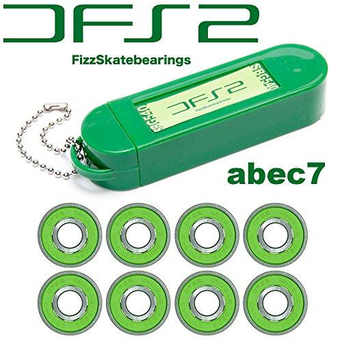 DFS2 FIZZ BEARINGS SBG540 ABEC7 Fizz skateboard (skateboarding) bearing 'outlet.'
