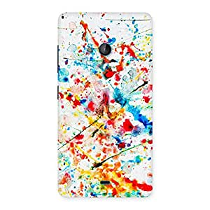 Delighted Paint Scribble Multicolor Back Case Cover for Lumia 540