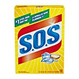 S.O.S. Steel Wool Soap Pads, 18 Count