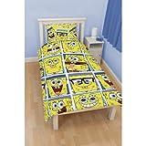 Spongebob Squarepants 'Framed' Single Duvet Cover Character Rotary