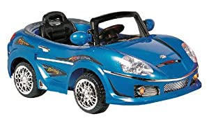 Best Ride on Cars 698R 6V Kids Convertible, Black