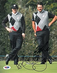 Buy Rory McIlroy Autographed Hand Signed 8x10 Photo Ryder Cup w  Graeme McDowell- PSA Hologram by Hall of Fame Memorabilia