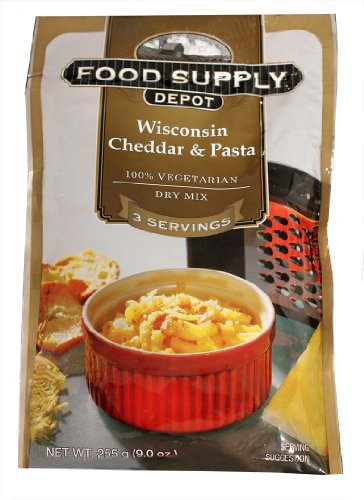 Stansport Food Supply Depot Wisconsin Cheddar And Pasta Bucket, 20-Count