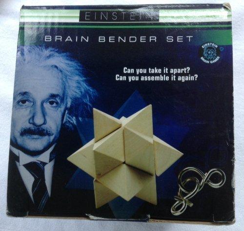 Einstein Wooden Star Brain Benders - 1