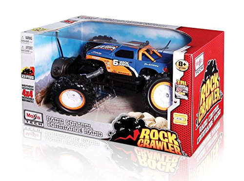 Maisto R/C Rock Crawler Radio Control Vehicle (Colors May Vary) JungleDealsBlog.com