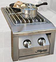 Hot Sale Alfresco AGSB-2 14-Inch Built-In 2 Burner Unit