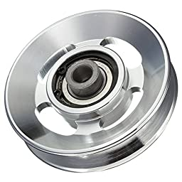BephaMart 88mm Aluminium Alloy Bearing Wheel for Fitting Equipments Shipped and Sold by BephaMart