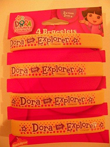 Dora Id Bracelets Party Favors, 4 Count - 1