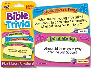 Bible Trivia Challenge Cards
