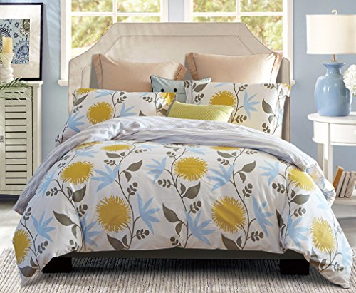Word Of Dream 200 Thread Count 100 Combed Cotton Floral