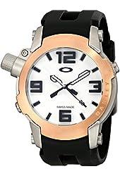 Oakley Men's 26-329 Kill Switch Analog Display Swiss Quartz Black Watch