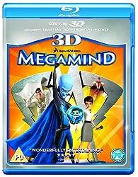 Megamind 3D (Blu-ray 3D + Blu ray + DVD) [2010]