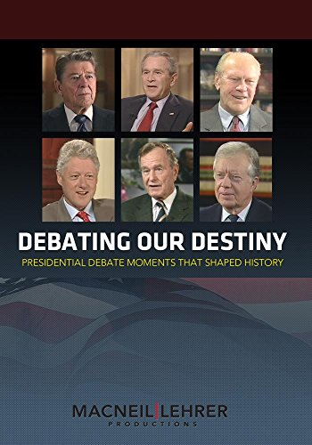 DVD : Debating Our Destiny: Presidential Debate Moments (4 Discos)