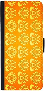 Snoogg Motif Yellow Shaded 2417 Designer Protective Flip Case Cover For Samsu...