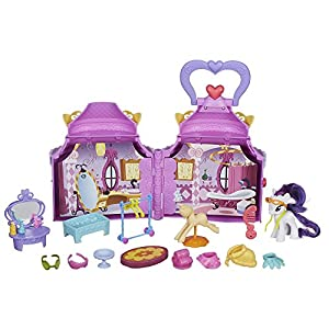 My Little Pony B1372AS0 Cutie Mark Magic Rarity's Booktique Playset