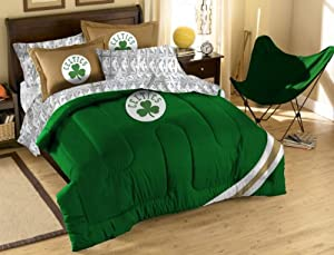 NBA Boston Celtics Full Bed in a Bag with Applique Comforter by Northwest