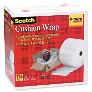 Scotch Cushion Wrap 7953, 12 Inches x 175 Feet