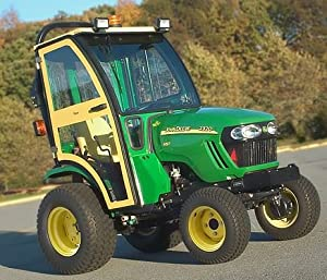 John Deere Compact Tractor Hard Sided Deluxe Cab. Fits John Deere 2320, 2520, 2720. 1JD2520AS