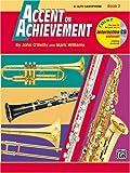 Accent on Achievement, Bk 2: E-Flat Alto Saxophone (Book & CD)