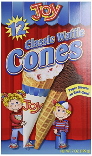 Joy Waffle Classic Cones - 12 ct