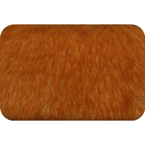 Amazon.com: Faux Fake Fur Shag RED FOX FUR Fabric By the Yard