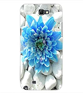 ColourCraft Beautiful Flower Design Back Case Cover for SAMSUNG GALAXY NOTE 2 N7100