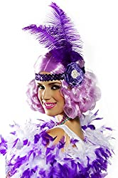 Lilac Party Flapper Adult Wig
