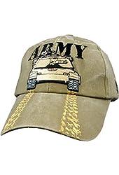 US Army Tank Khaki Ball Cap