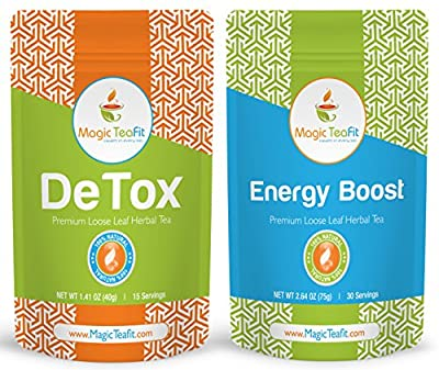 Magic Teafit Energy Boost Teatox, Detox Tea, Weight Loss Tea, Body Cleanse, Appetite Control