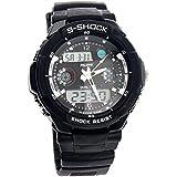 Foxnovo® Alike AK1170 50M Waterproof Dual-time Men''s Sport Digital Quartz Wrist Watch with Date /Alarm /Timer