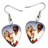 Black Eyed Peas (WK) 2 X Live Performance Guitar Pick Earrings