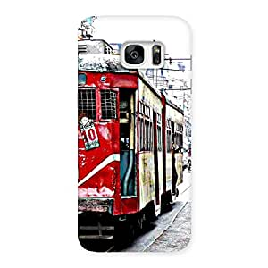 Impressive Calcutta Multicolor Back Case Cover for Galaxy S7 Edge