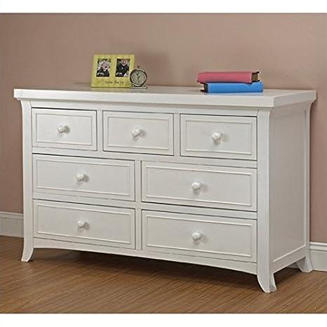 Sorelle Alex Double Dresser in White