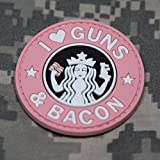 I Love Guns and Bacon - Pink