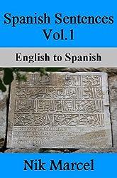 Spanish Sentences Vol.1- English to Spanish