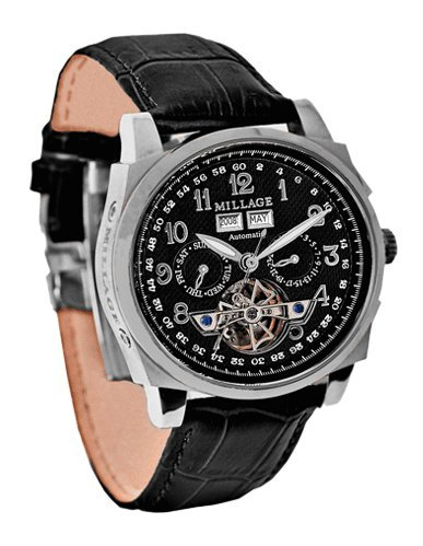 Millage Tourbillion Black on Silver