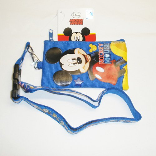 Disney Mickey Mouse Lanyard con monedero