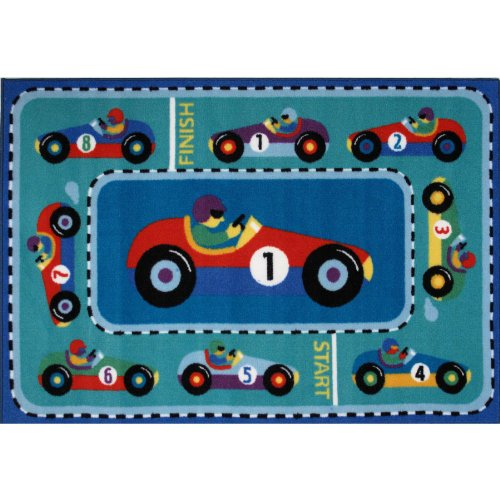 Race Cars Area Rug 19