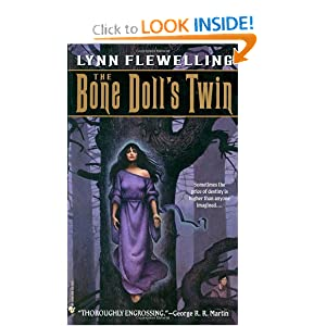 The Bone Doll's Twin (Tamir Trilogy, Book 1) by Lynn Flewelling and John Jude Palencar