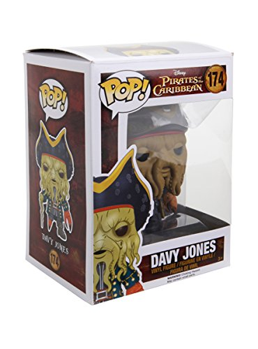 Funko Disney Pirates Of The Caribbean Pop! Davy Jones Vinyl Figure