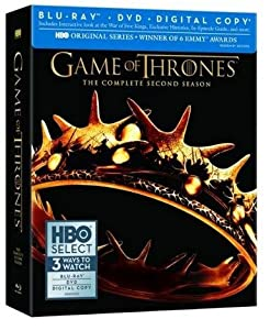 Game of Thrones The Complete Second Season with Bonus Blu-Ray Disc