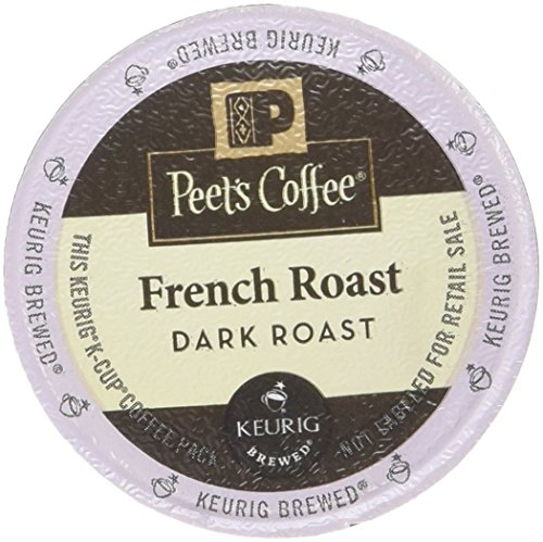 Peet's Coffee French Roast Single Cup Coffee for Keurig K-Cup Brewers 40 count (Peets Keurig Coffee Cups compare prices)