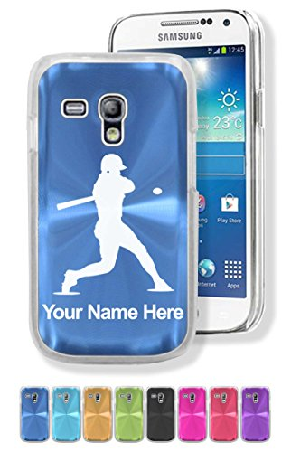 Samsung Galaxy S3 Mini Case/Cover - BASEBALL PLAYER BATTER - Personalized for FREE (Baseball Samsung Galaxy S3 Case compare prices)