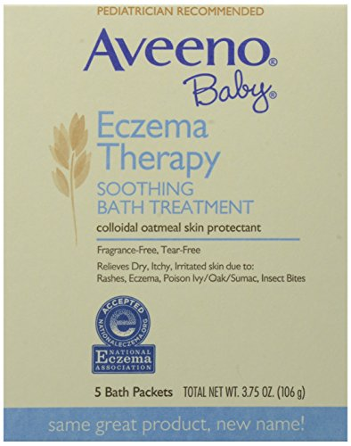 Aveeno Baby, Soothing Bath Treatment, Fragrance Free, 5 ct. 3.75 oz - 1