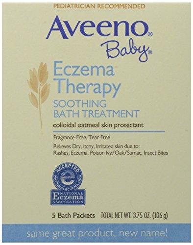 Aveeno Baby, Soothing Bath Treatment, Fragrance Free, 5 ct. 3.75 oz