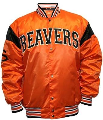 NCAA Oregon State Beavers Big League Satin Jacket Mens by MTC Marketing, Inc