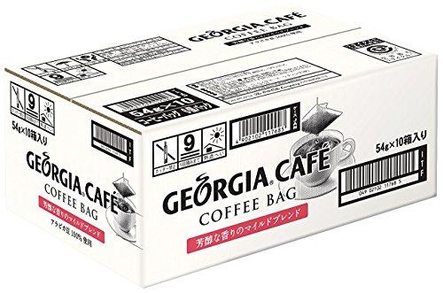 Mild blend 9gX60 bags of Coca-Cola Georgia Cafe coffee bag mellow aroma (Georgia Coffee compare prices)
